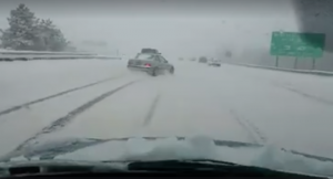 WATCH: Possibly the Worst Snow Driver Ever