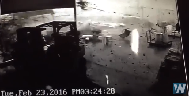Caught on Camera: FedEx Driver Escapes Injury During EF-3 Tornado