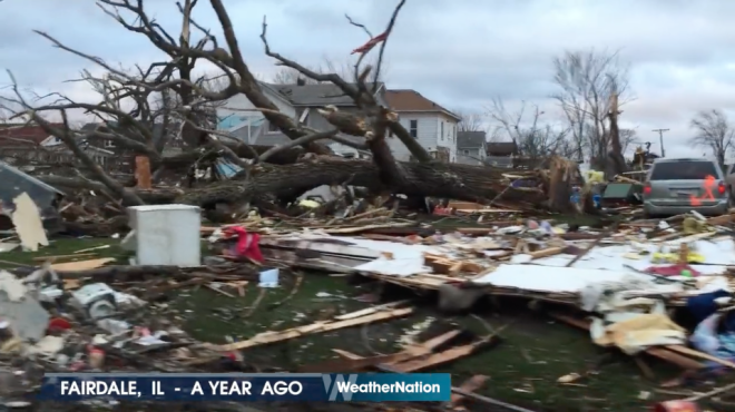WATCH: One Year Later, Chilling Video Surfaces Marking Fairdale Tornado Outbreak