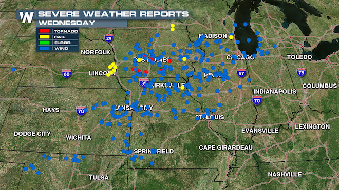 Severe Reports Wed