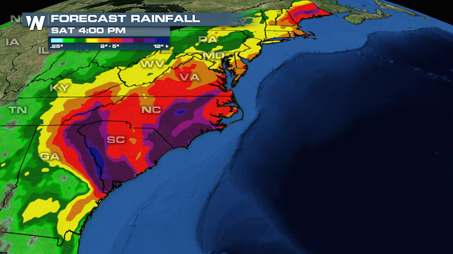 Southeast Rainfall