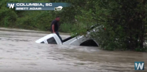 VIDEO: Terrifying Water Rescue From South Carolina Flood