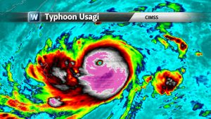 Super Typhoon Usagi Threatens Hong Kong, Texas Flood Concerns, Fall-Like Weekend