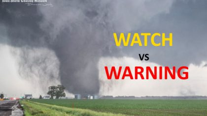 Watch Vs. Warning: Know The Difference