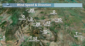 Downslope Winds Warm the Plains