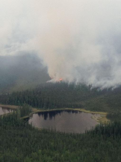 Residents Flee Growing Alaska Wildfire