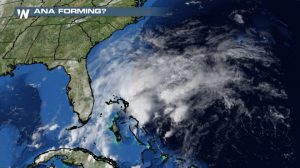 Odds Increasing of Atlantic's First Named Storm