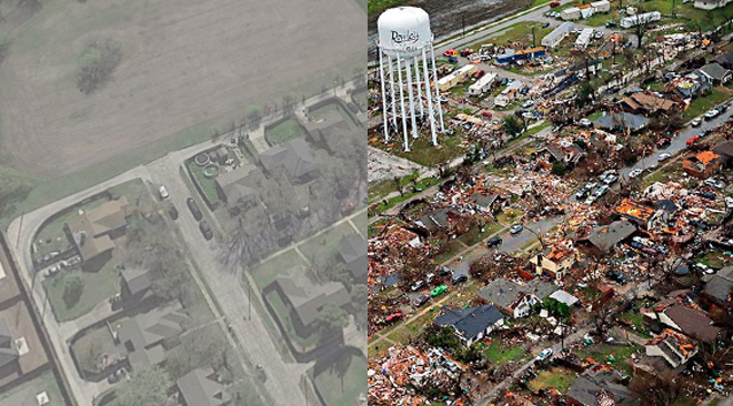 Shocking Before & After Images – Christmas Tornado ...