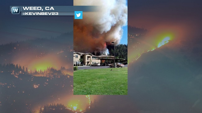 Fires in California Destroy at Least 100 Structures and Force Thousands of Evacuations