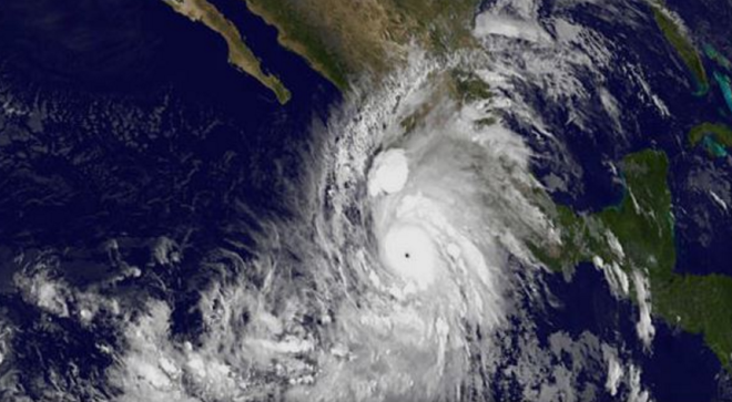 Cat 5 Patricia Now Strongest Hurricane on Record in East Pacific