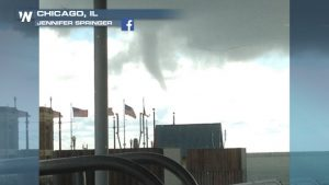 Waterspouts Sighted in Chicago and Tampa on Saturday