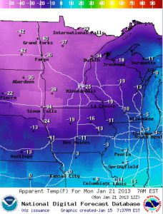 Coldest Air in 4 Years Brewing for Upper Midwest Early Next Week