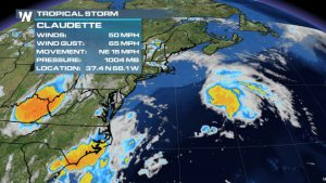 New Atlantic Tropical Storm, No Threat to (American) Land