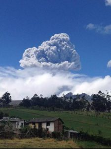 Volcano Eruption Forces State of Emergency in Ecuador