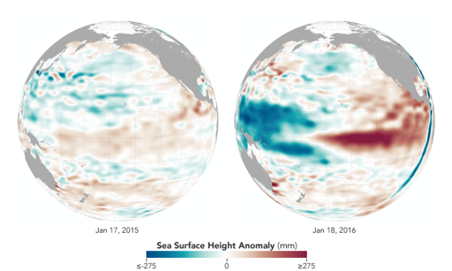 El Niño Should Be Near Its Peak According to NASA