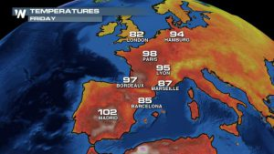 Heat Wave Scorches Europe, Little Relief In Sight
