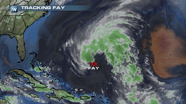 Subtropical Storm Fay Forms in the Atlantic, Other Areas of Interest Develop