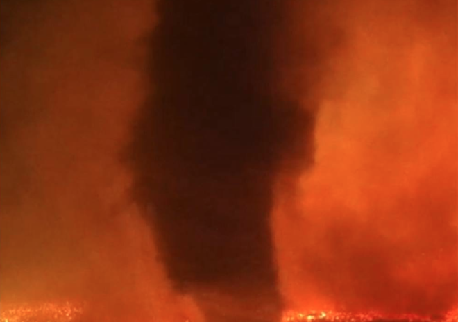 WATCH: Idaho Wildfire Belches out Frightening 'Firenado'
