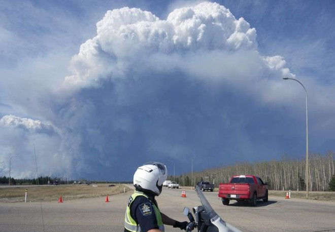 Gargantuan Fort McMurray Wildfire Gets More Extreme, Creating Its Own Weather