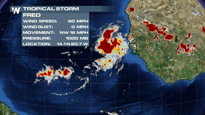 Tropical Storm Fred Forms; Appears Unlikely To Impact Land