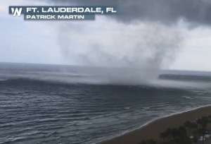 WATCH: Waterspout Spotted Off Florida Coast