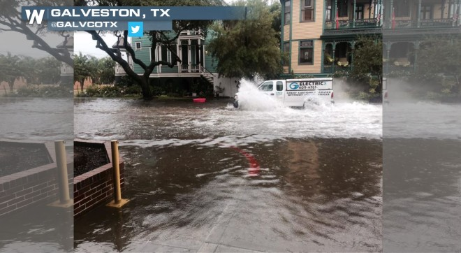 Flash Flooding Hampers Coastal Texas; More Heavy Rain Possible This Week