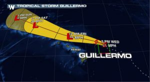 Guillermo Expected to Bring Heavy Rain, Surf to Hawaii