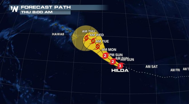 Another Tropical System Set to Impact Hawaii