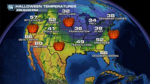 The Halloween Forecast: Spooky, Spectacular or...Snowy?