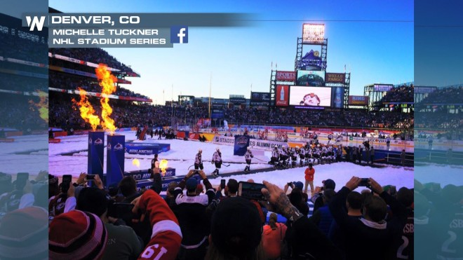 Warmest Outdoor Nhl Game In History Played Saturday Weathernation