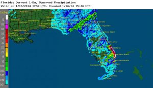 Over a Foot of Rain in South Florida