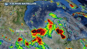 Tropical Depression Five Forms in the Gulf of Mexico