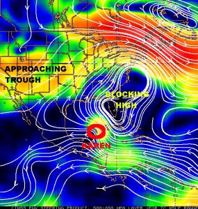 Karen Forms, Headed for Northern Gulf Coast