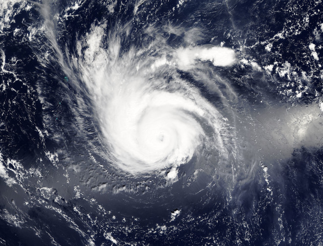 A Two Faced Storm – Kilo a Typhoon and a Hurricane