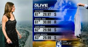 Local Meteorologist Handed A Sweater During 'Scandalous' Weather Report