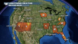 Four Lightning Fatalities In A Week