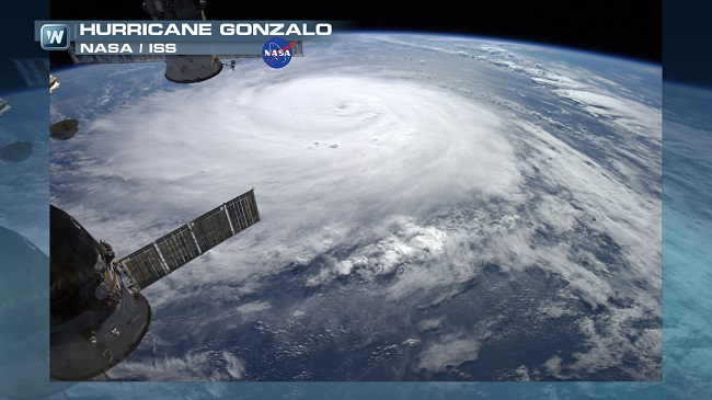 Paradise in Peril: Cat. 3 Hurricane Gonzalo Rages Torward Bermuda, Ana Threatens Hawaii