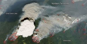 Fighter Pilots and Satellites Capture Breathtaking Images of Pyrocumulus Clouds