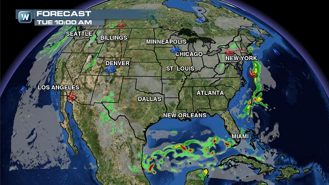 Weather Roundup: National Forecast for Oct. 21