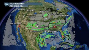 Weather Roundup: National Forecast for Sept. 12