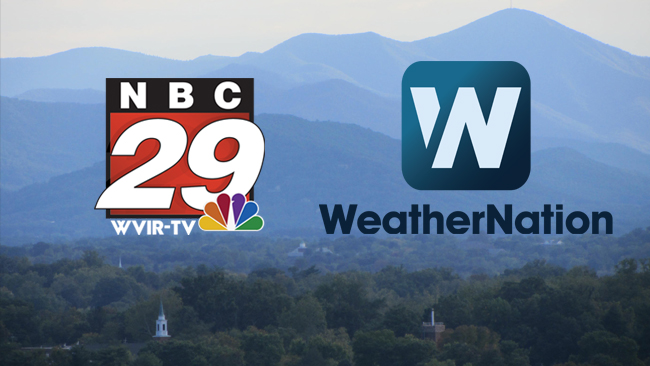 WeatherNation Welcomes WVIR- StormTeam NBC 29  to the Family