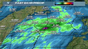 Severe Threat Continues, Early April Snow Storm