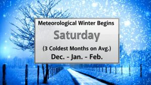 Meteorological Fall Ends - Where Is The Snow?