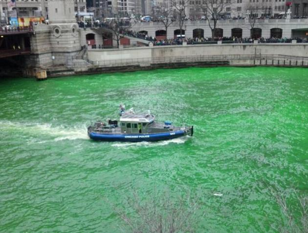 Happy St. Patrick's Day! Winter Weather Continues