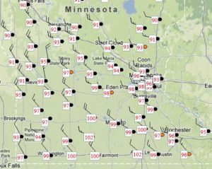 Mother Nature Goes Off The Rails: Minnesota goes from 18