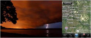 Near A New USA Record High by Sunday? (fishing: most dangerous outdoor activity for lightning risk - 4th of July preview)