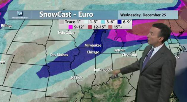 More Weather Whiplash: Weekend Snowstorm for Chicago, 60s & 70s Out East