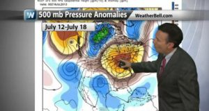 A Very Odd Summer Weather Pattern (why are nights trending warmer - potential for