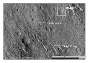 Lost Beagle Found on Mars, After More Than 10 Years