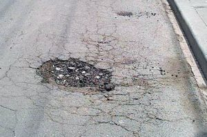 How Does Mother Nature Create Potholes?